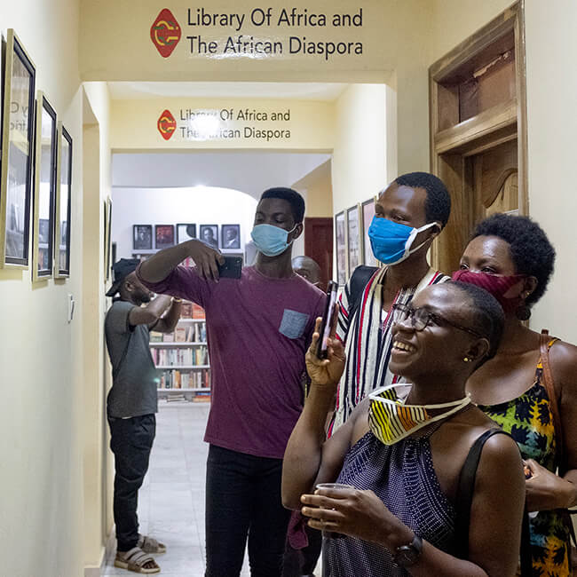 Tour of the Library Of Africa and The African Diaspora (LOATAD)